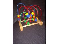 IKEA kids mula bead wooden toy