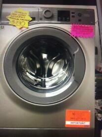 Hotpoint ex-display 8kg load washing machine