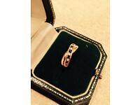 Sapphire and diamond ring - amazing Xmas gift!!