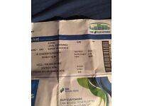 Fatboy slim standing ticket Glasgow £35