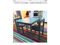 Ikea table an 2 chairs