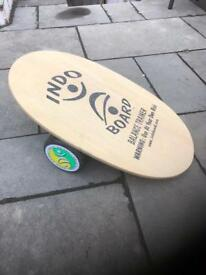 Indo Board balance board, surf board trainer