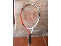 Wilson Federer Power Strings Tennis Racket