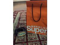 Men's Superdry Leather Belt