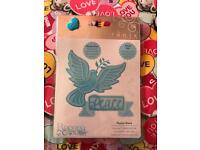 Tonic Die Cut - Peace Dove - Brand New