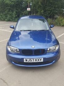 BMW 1 SERIES 2.0 118l ES. Low Mileage. Current Lady Owner.