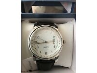 Silver plated watch new