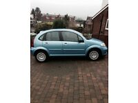 Citroen C3 Exclusive; 1.6 Petrol; Semi-Automatic; 2005; Blue; 67,345 Miles;