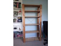 Strong wooden bookcase
