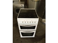 White Indesit Very Nice Ceramic Plate Electric Cooker (Fully Working & 4 Month Warranty)