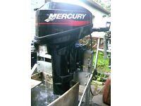 OUTBOARD BOAT ENGINE MERCURY 15 HP 2002 MODEL