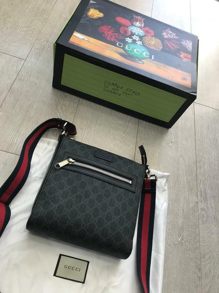 dae3cd1d271b GUCCI Messenger Bag Pouch *100% Authentic* Brand New With Box ...