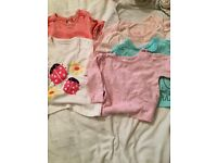 Bundle of baby girl clothes 3-6months