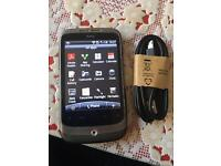 HTC WILDFIRE S ANDROID SMARTPHONE TOUCHSCREEN EE/VODAFONE with USB no offers
