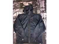 Navy blue ralph lauren coat