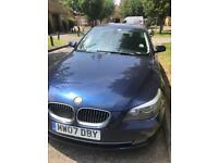 For Sale BMW 525i 2007 Manual Blue Drives well - 200k miles