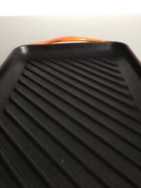 Le Creuset Grill tray excellent condition 30x20cm