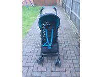 Silver cross pop bears stroller blue/black
