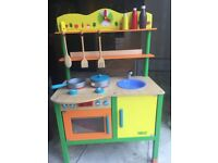 Tidlo Children's Wooden Kitchen
