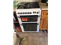 Nearly New Hotpoint Oven, Cooker and Hob