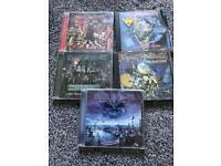 Iron maiden bundle of album cds