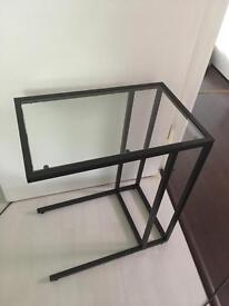 Glass tables x 2 perfect condition