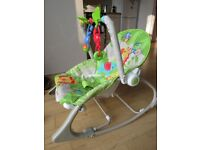 Fisher Price Infant to Toddler Rocker / baby bouncer - great condition
