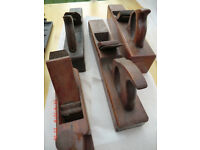 Vintage Wooden hand planes