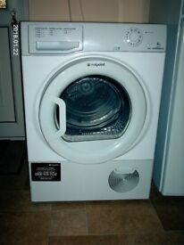 HOTPOINT CONDENSER TUMBLE DRYER 8 KG AS NEW
