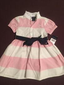 Girls Ralph Lauren dress set
