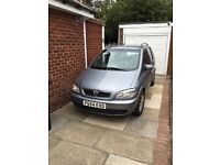 Vauxhall Zafira 7 Seater 1.8 Elegance - Please Read description re condition.
