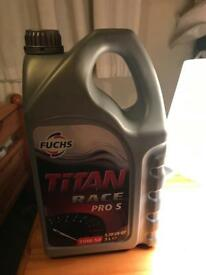 Fuchs 10W-50 5L Titan Race Pro S Car Engine Oil