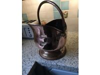 coal scuttle copper