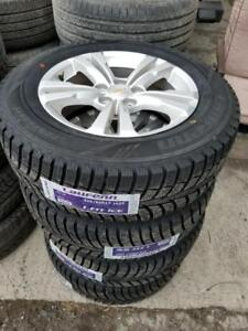 225 65 17 winters on Chevy Equinox GMC Terrain 5x120 rims TPMS //// OEM  Alloy rims in stock