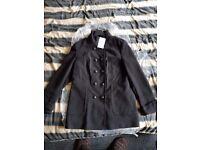 BRAND NEW - TICKETS ON BLACK COAT