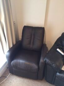 FREE- Comfy Reclining Armchair