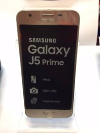 New Condition Samsung Galaxy Core Prime J5 Gold Perfect Deal for YOU aswell as BLACK & WHITE FRIDAY!