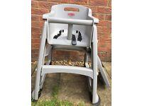 Rubbermaid Sturdy Grey Chair