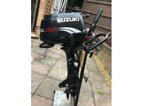 Suzuki DF4 outboard 4 stroke shot shaft