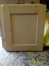 Solid oak and solid birch kitchen doors new in boxes