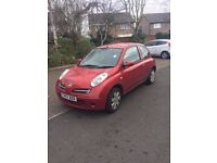 NISSAN MICRA 2007 1.2 PETROL GREAT FIRST CAR/CHEAP RUNABOUT LOW MILAGE 10 MONTHS MOT ONE LADY OWNER