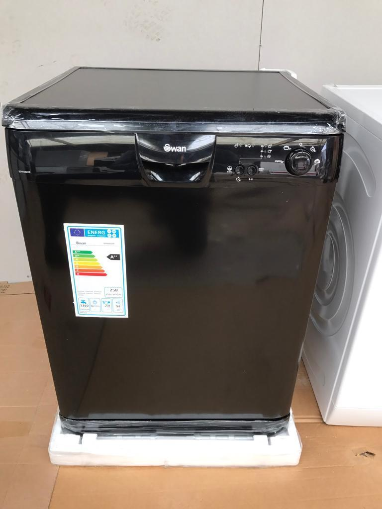 Brand new black dishwasher RRP £239