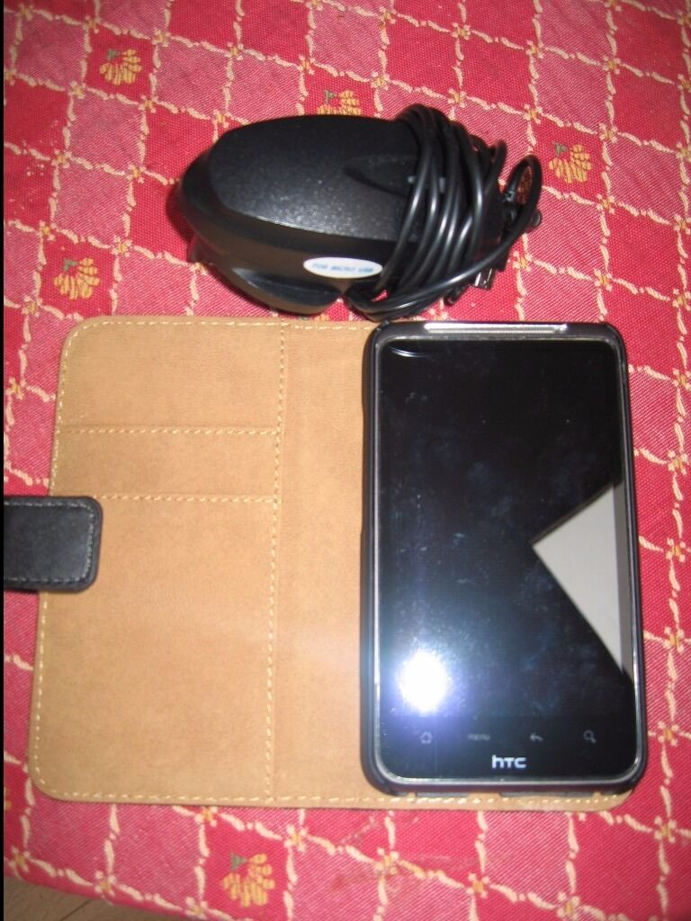 HTC Desire HD smart phonein GloucestershireGumtree - HTC Desire HD. Black, unlocked, 4 1/2 inch screen. In perfect working order, and cosmetically very good. Comes with quality leather wallet case, new mains charger, and additional spare battery. Will post if buyer pays postage