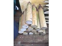 Wooden Stakes/pegs