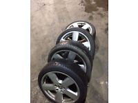 Audis line wheels 18 inch