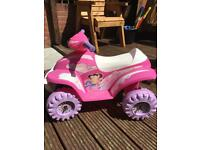 Kids electric car up to 36m pink