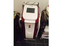 Proffecional IPL hair removal and skin rejuvenating machine. Almost new, all skin types