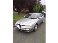 2002 Alfa Romeo 156 JTD Lusso Diesel Leather Interior Bose Sound System
