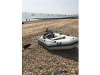 Plastimo Inflatable Boat w/ 4HP Mariner Engine