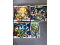 4 x Lego games